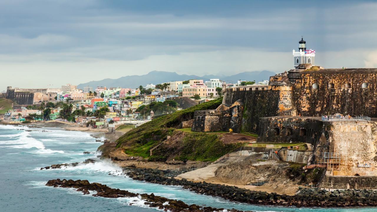 サンフアン国定史跡プエルトリコ