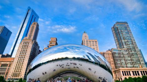 イリノイ州シカゴのクラウドゲート