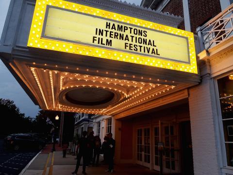 ハンプトンの国際映画祭