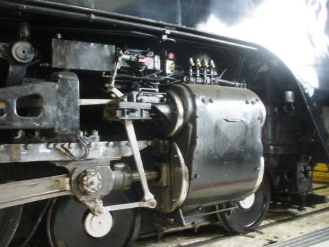 シャイアンにある昔の蒸気機関車