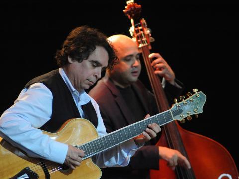 フライホーファーズ・サラトガ・ジャズ・フェスティバルの演奏者たち