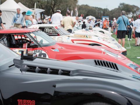 フロリダ州アメリア島で開催される自動車ショー、コンクールデレガンス