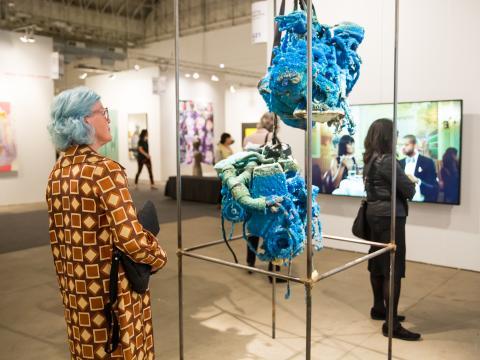 芸術の秋の到来を告げる、ネイビーピアのエキスポシカゴのギャラリー展示