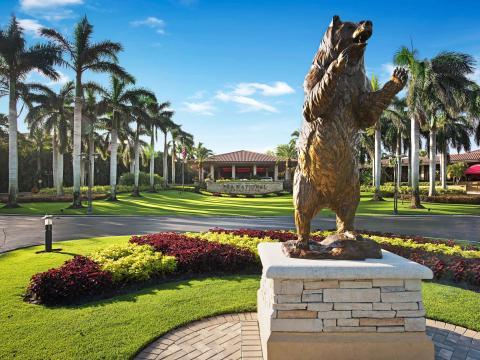 ザ・ホンダ・クラシック・ゴルフトーナメントの開催地、フロリダ州パームビーチガーデンの PGA ナショナル・ゴルフクラブ
