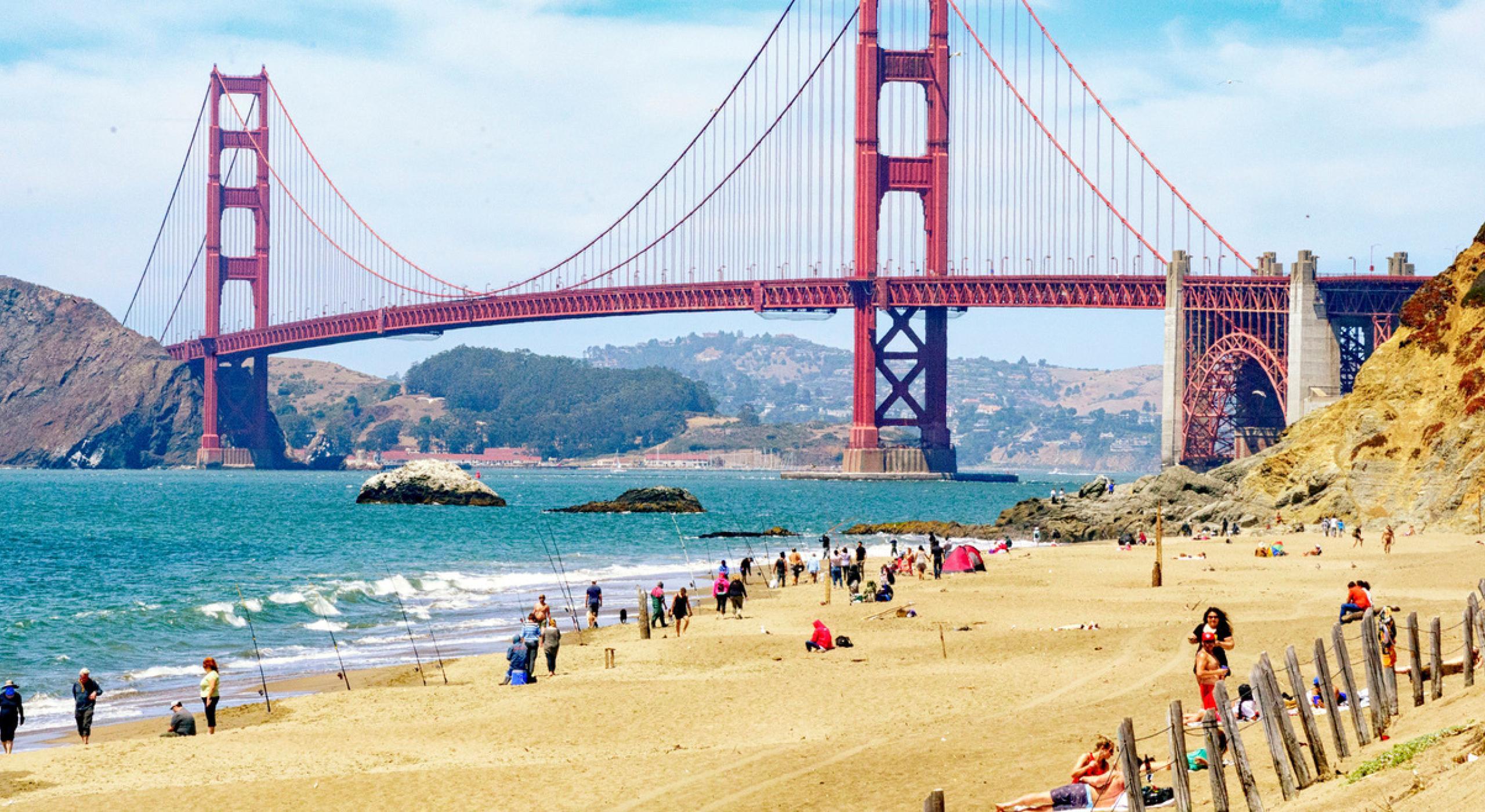 多様な文化が入り交ざる都市、サンフランシスコ   GoUSA
