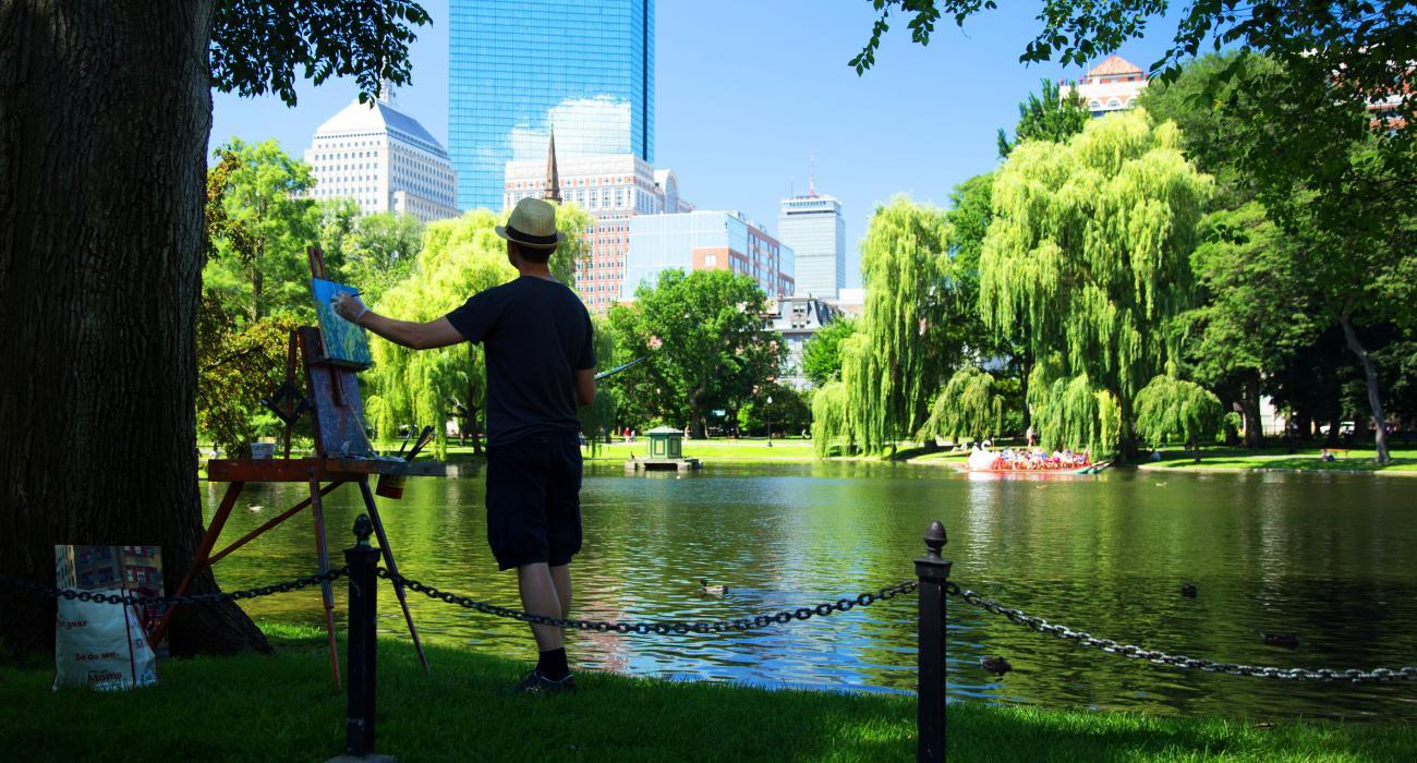 マサチューセッツ州ボストン 芸術 歴史 文化の都市 gousa